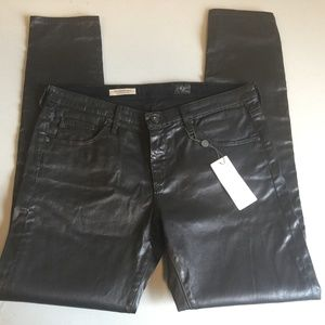 AG Adriano Goldschmied Skinny Leatherette Pants